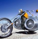 صورة الدراجة الغريبة