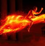 صورة الرجل الناري