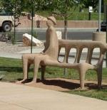 صورة المقعد الغريب