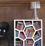 صور مكتبة كتب غريبة