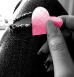 صورة قلب وردي