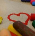 صورة قلوب كتابة