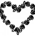 صورة قلب من الورود