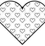 صورة رسم قلوب