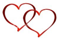 صورة قلبين