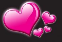 صورة قلوب جميلة جدا