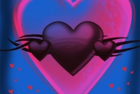 صورة قلب رهيب