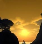 صورة مناظر طبيعية لشروق الشمس