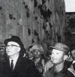 ليفي اشكول رئيس وزراء العدو الإسرائيلي أثناء نكبة 1967
