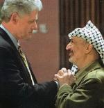 عرفات – رحمه الله – مع كلينتون 1998