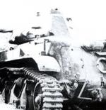 دبابة سورية مدمرة في حرب 1948