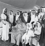 صورة نادرة لملك السعودية