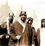 صورة قديمة لملك السعودية