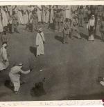 صورة قديمة للقصاص في السعودية