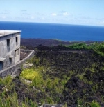 Comores are volcanic islands