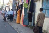 A street in Moroni, Comoros