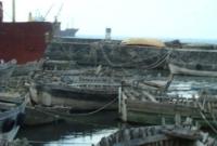 ساحة قطع الغيار للقوارب الصيد