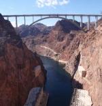 Hoover Dam view of the new bridge