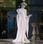 Statues inside Venetian