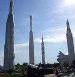 صاروخ حديقة مركز كنيدي للفضاء
