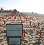 مقابر الجنود على شاطئ سانتا مونيكا