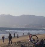 Mountains at Santa Monica