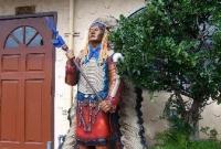 تمثال في مدينة سانتا مونيكا