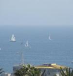 المراكب الشراعية في سانتا مونيكا