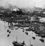 بعض من آثار التدمير في المدينة على يد الجيش الياباني