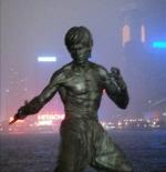تمثال بروس لي