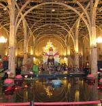 Bamboo inside Vietnam Pavilion