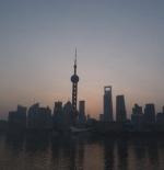 صورة لشروق الشمس في مدينة شنغهاي