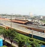القطار في جاكرتا