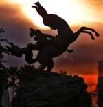 تمثال في مدينة جاكرتا