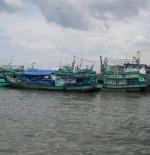 قوارب الصيد في جاكرتا
