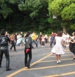 صورة الرقص على موسيقى الروك اليابانية في طوكيو