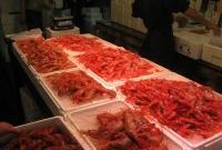 صورة سوق السمك في طوكيو