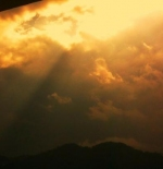 غروب الشمس في جنتنج