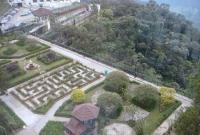 منظر من نافذة الفندق في جنتنج
