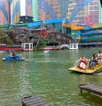 Boating area at Theme park