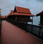Entrance to Premier Chalet on Water – Berjaya Langkawi Resort, Malaysia