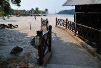 Pathway to the beach at the Berjaya Langkawi Resort, Malaysia
