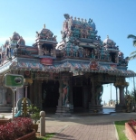 Hindu temple on the hill top