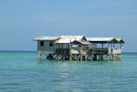 floating shack