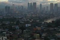 مدينة مانيلا من الاعلى