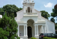 كنيسة في مدينة سنغافورة