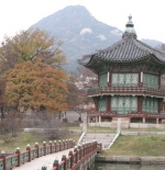 Pond at Gyeongbokgung