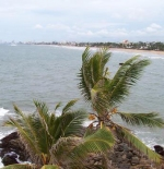 Mount Lavinia view up to Colombo