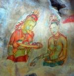 لوحة جدارية قديمة