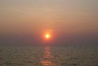 غروب الشمس في مدينة باتايا